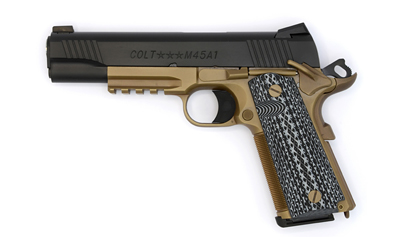 "COLT CQB GOVT 45ACP 5"" 8RD BLK/FDE - for sale"