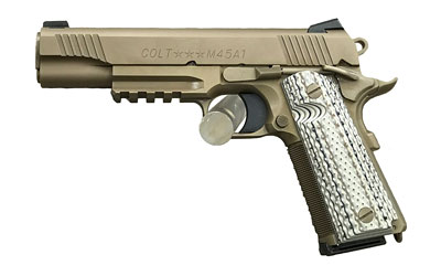 "COLT CQB GOVT 45ACP 5"" 8RD FDE - for sale"