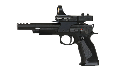 "CZ 75 TS CZECHMATE 9MM 5.2"" BLK 20RD - for sale"