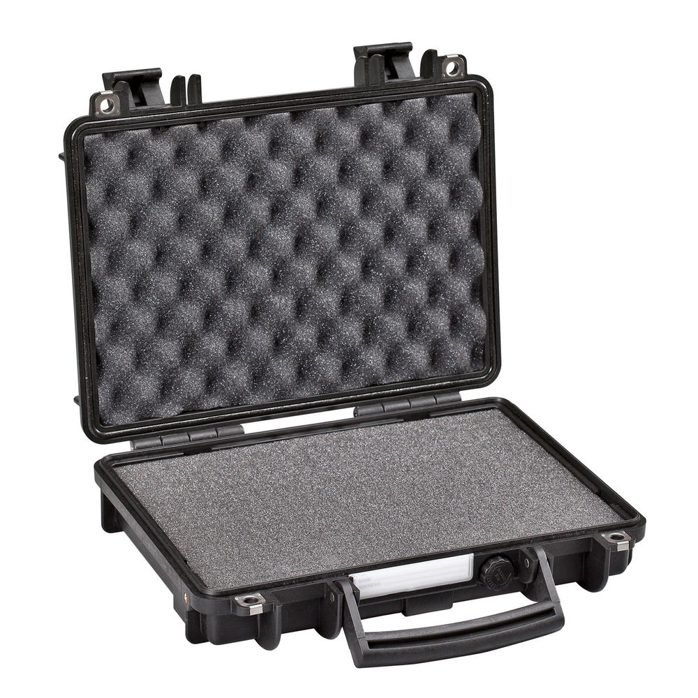 explorer case - 3005B - SINGLE PISTOL CASE BLK PRE CUBED FOAM for sale