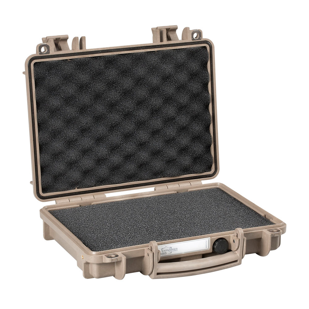 explorer case - 3005D - SINGLE PISTOL CASE DS PRE CUBED FOAM for sale