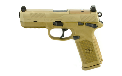 FN FNX-45 TACT 45ACP 10RD FDE NS MS - for sale
