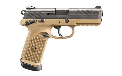 "FN FNX-45 4.5"" FDE/BLK 3 MAG MS 15RD - for sale"