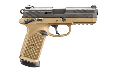 "FN FNX-45 4.5"" FDE/BLK 3 MAG MS 10RD - for sale"
