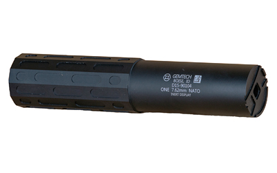 GEMTECH ONE 7.62 5/8X24 TITANIUM BLK - for sale
