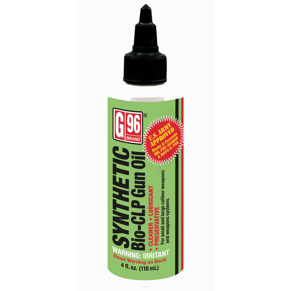 g-96 brand - 2053 - G96 SYNTHETIC BIO CLP GUN OIL 4 OZ for sale