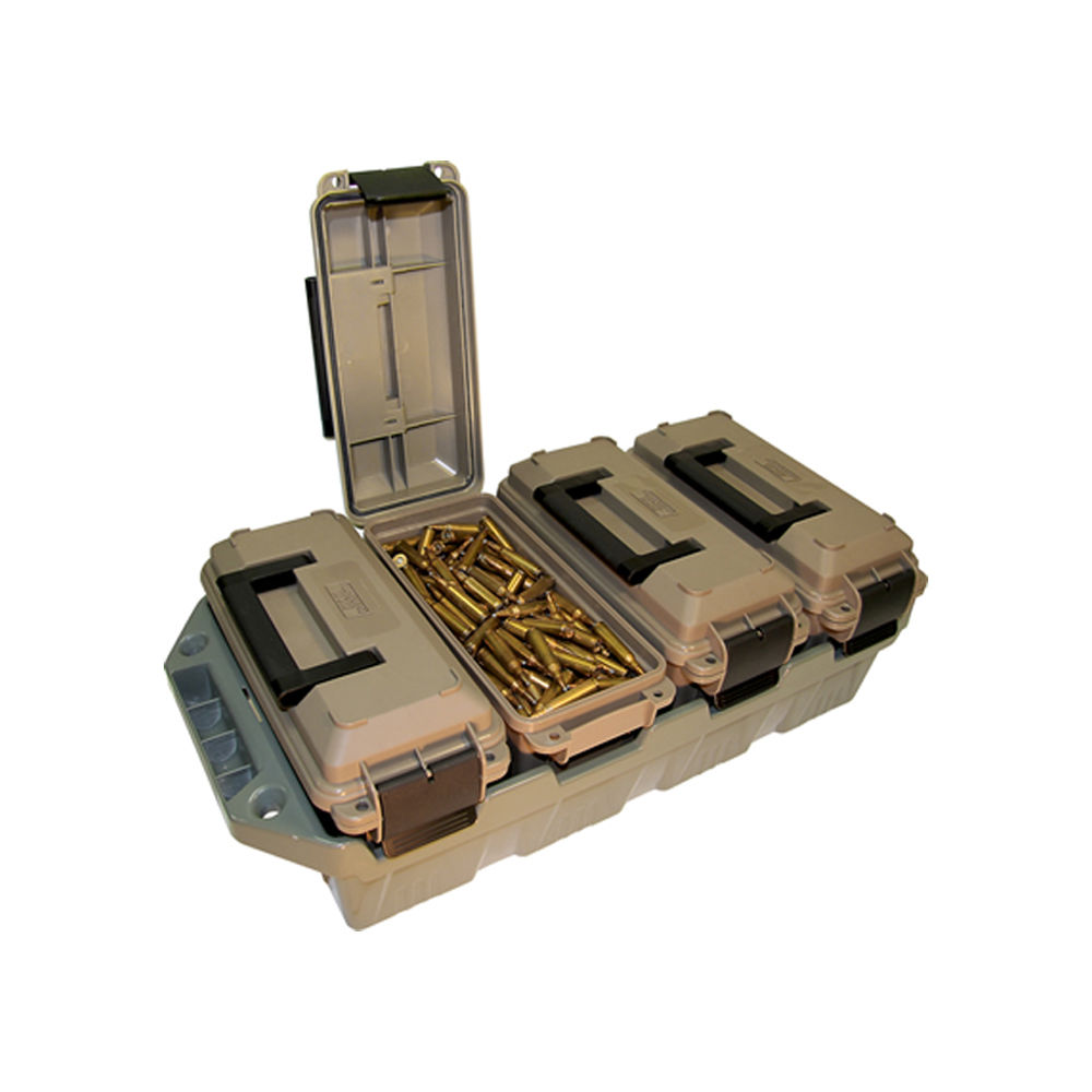 mtm case-gard - AC4C - 4 CAN AMMO CRATE DARK EARTH for sale