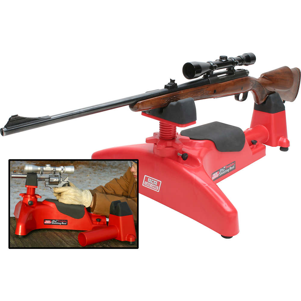 mtm case-gard - Predator - PREDATOR SHOOTING REST - RED for sale