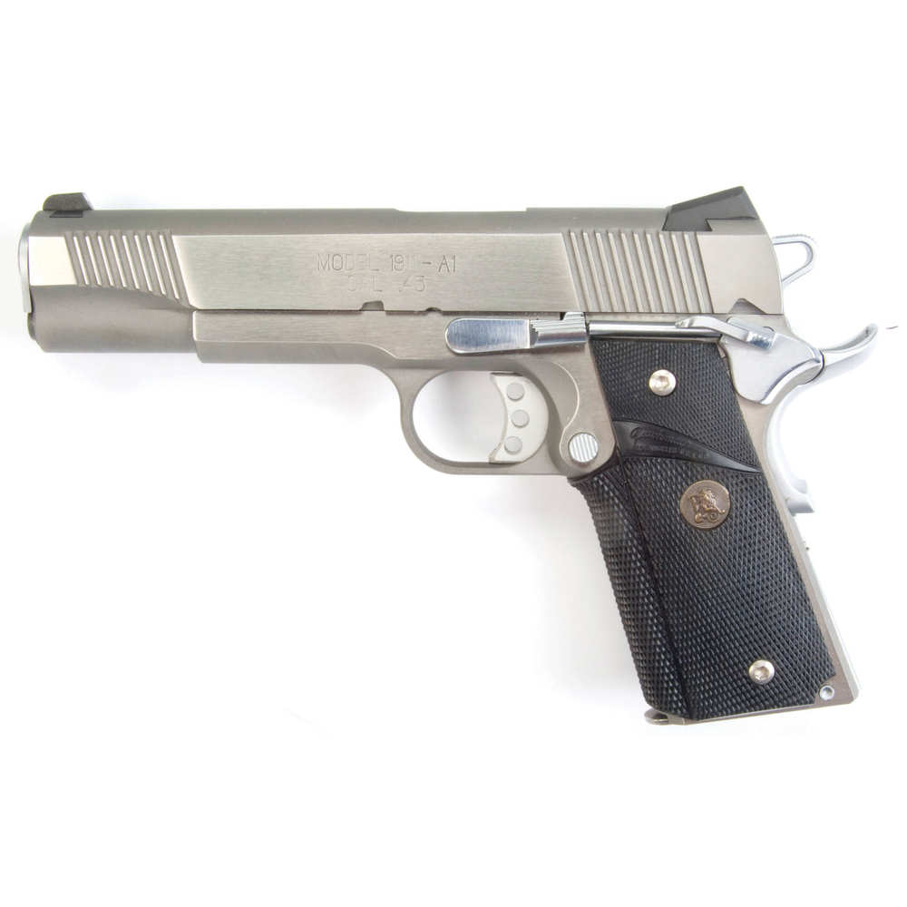 pachmayr - Signature without Backstrap - GM-45/C SIGNATURE GRIP COLT 1911 CMBT for sale